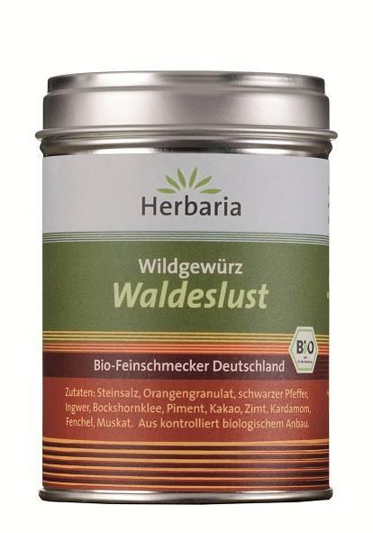 Herbaria BIO Waldeslust - Wildgewürz 120g