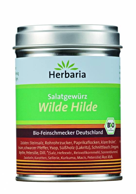 Herbaria BIO Wilde Hilde - Salatgewürz 100g
