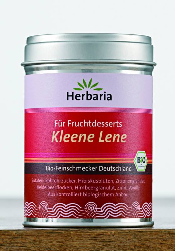 Herbaria BIO Kleene Lene - Gewürz für Fruchtdesserts und Grütze  110g