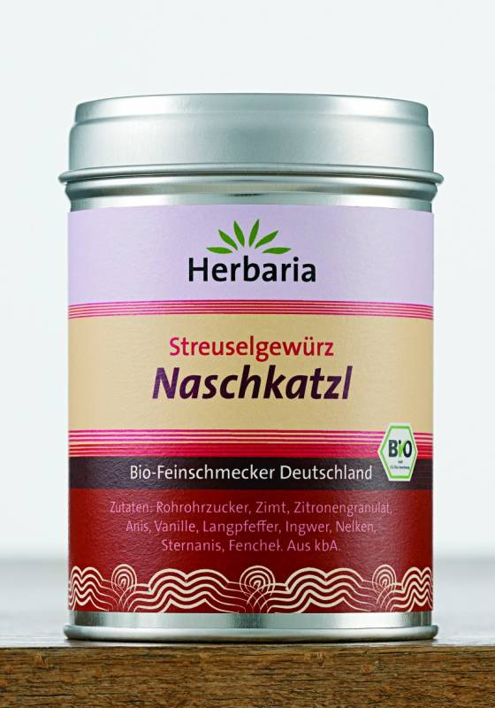 Herbaria BIO Naschkatzl - Streuselgewürz 120g