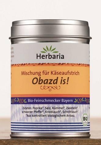 Herbaria BIO Obazd is! - Mischung für Käseaufstrich 90g