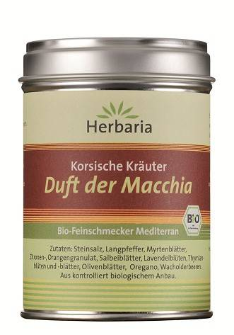 Herbaria BIO Duft der Macchia - Korsische Kräuter 80g