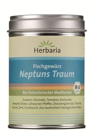 Herbaria BIO Neptuns Traum - Fischgewürz 100g