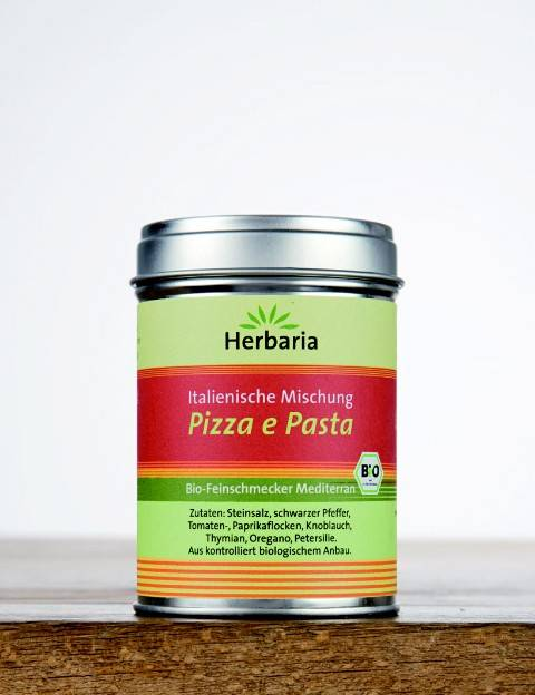 Herbaria BIO Pizza e Pasta - Italienische Mischung 100g