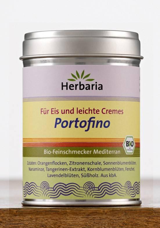 Herbaria BIO Portofino - Gewürz für eis und leichte Cremes 80g