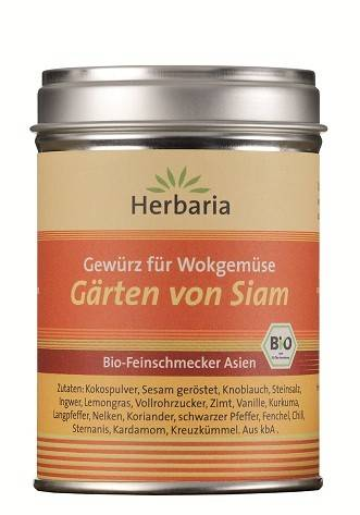 Herbaria BIO Gärten von Siam - Gewürz für Wokgemüse 80g