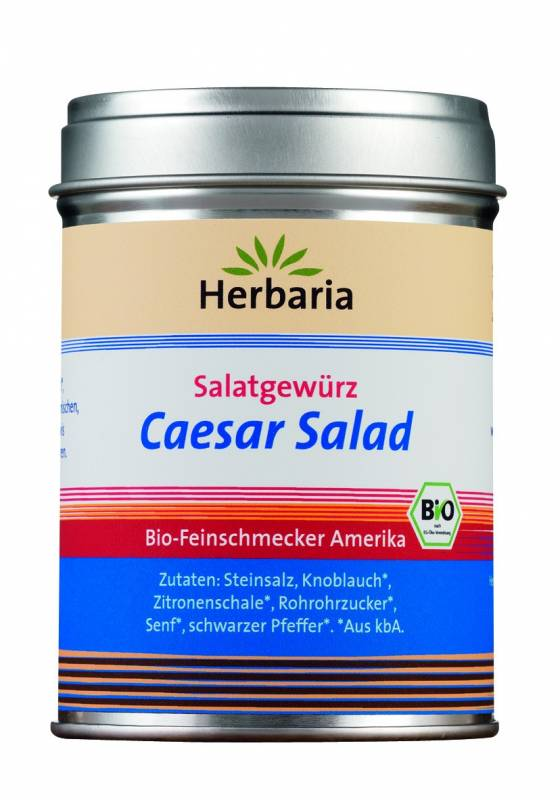 Herbaria BIO Caesar Salad - Salatgewürz 120g