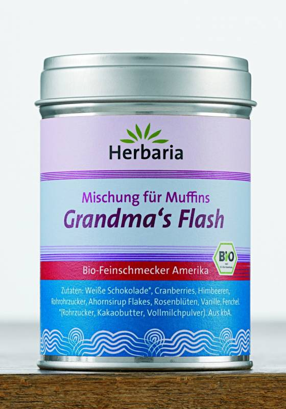 Herbaria BIO Grandma`s Flash - Gewürz für Muffins 70g