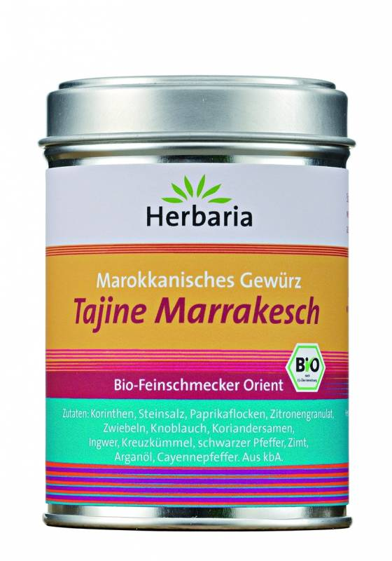 Herbaria BIO Tajine Marrakesch - Marokkanisches Gewürz 100g