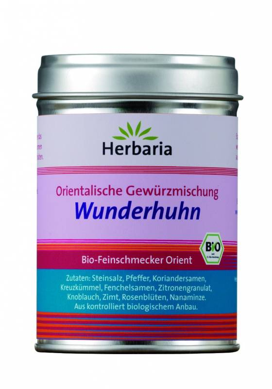 Herbaria BIO Wunderhuhn - Orientalische Gewürzmischung 80g