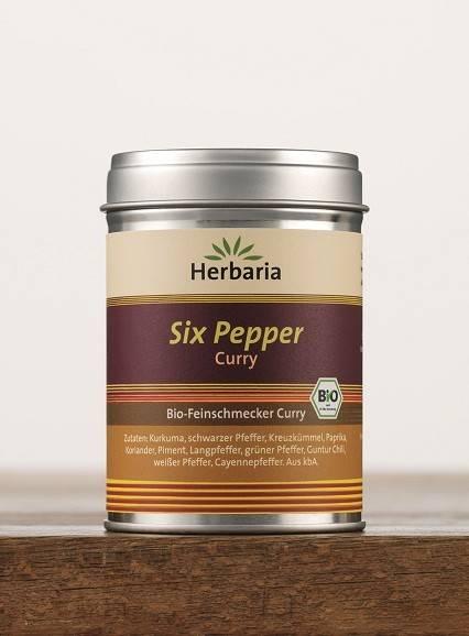 Herbaria BIO Six Pepper Curry 80g