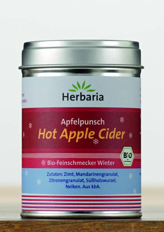 Herbaria BIO Hot Apple Cider - Gewürzmischung für Apfelpunsch 100g