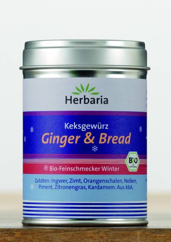 Herbaria BIO Ginger & Bread - Keksgewürz 55g