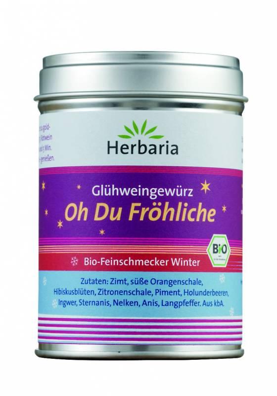 Herbaria BIO Glühweingewürz - Oh Du Fröhliche 70g