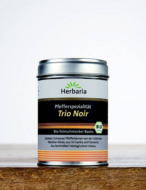 Herbaria BIO Pfefferspezialität Trio Noir 75g