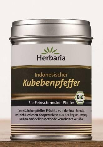 Herbaria BIO Indonesischer Kubebenpfeffer 60g