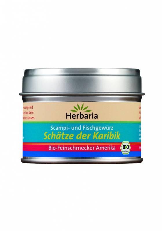 Herbaria BIO Schätze der Karibik - Scampi- und Fischgewürz 35g