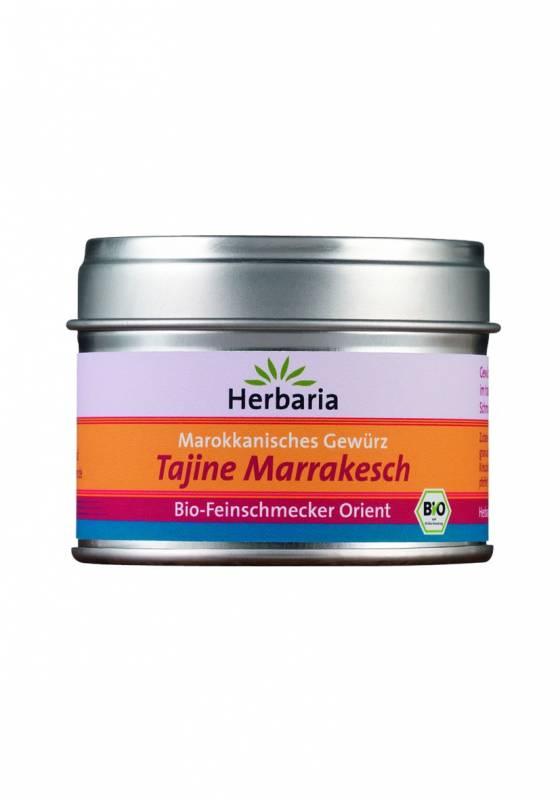 Herbaria BIO Tajine Marrakesch - Marokkanisches Gewürz 40g