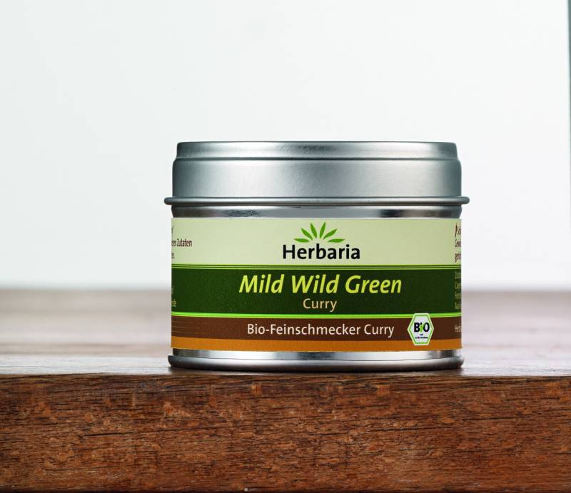 Herbaria BIO Mild Wild Green Curry 25g