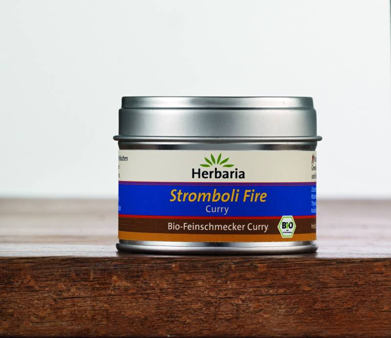 Herbaria BIO Stromboli Fire Curry 25g