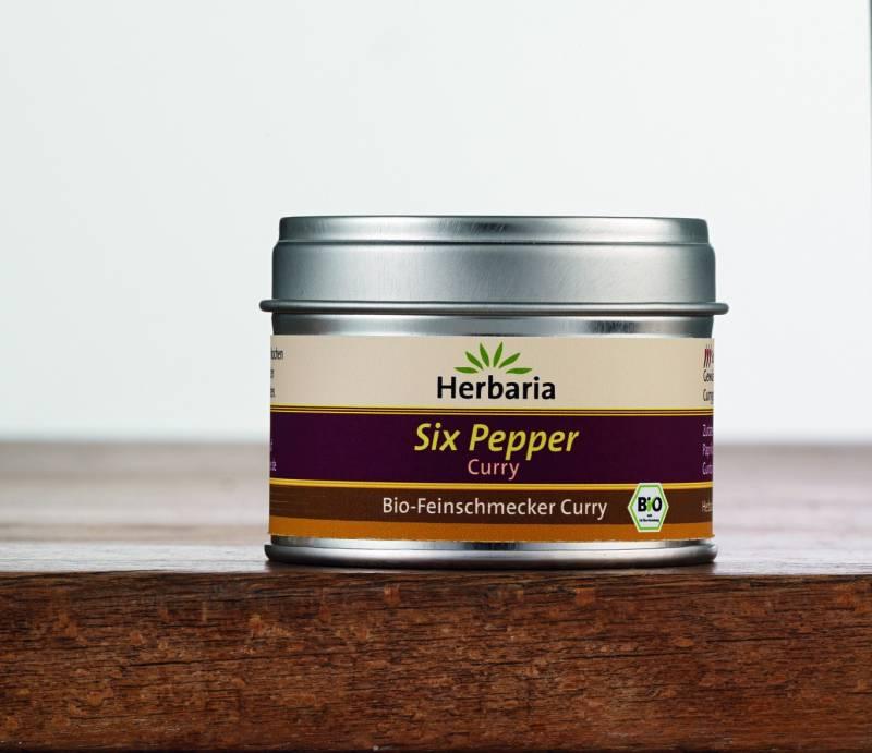 Herbaria BIO Six Pepper Curry 30g