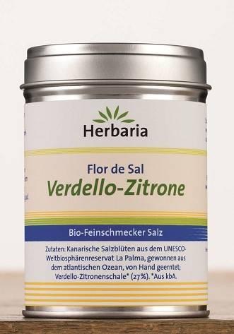 Herbaria BIO Flor de Sal - Verdello Zitrone 90g