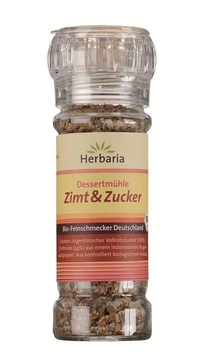 Herbaria BIO Zimt & Zucker - Dessertmühle 70g