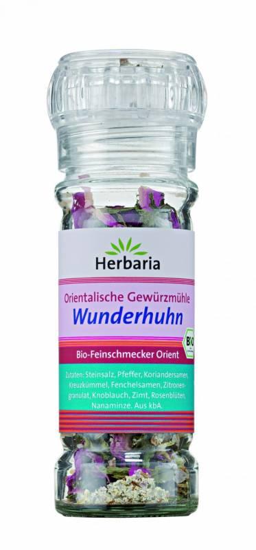 Herbaria BIO Wunderhuhn - Orientalische Gewürzmühle 50g