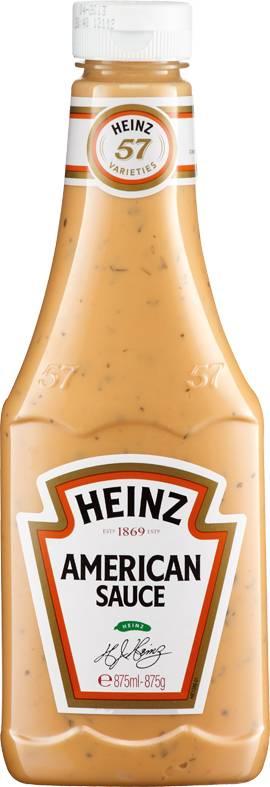 American Sauce 875 ml Plastikflasche 8715700418865
