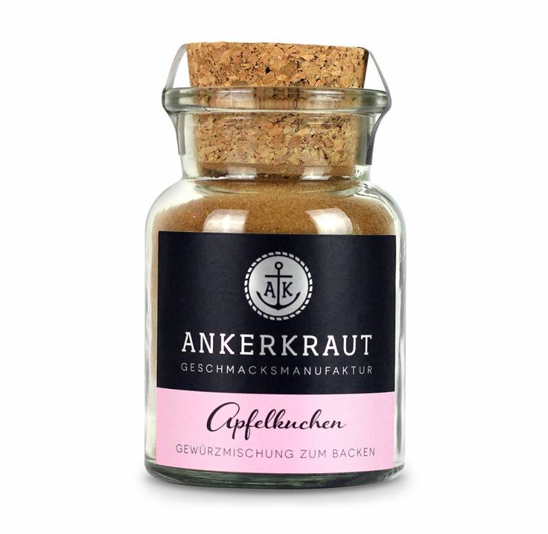 Ankerkraut Apfelkuchen Gewürz, 65g Glas