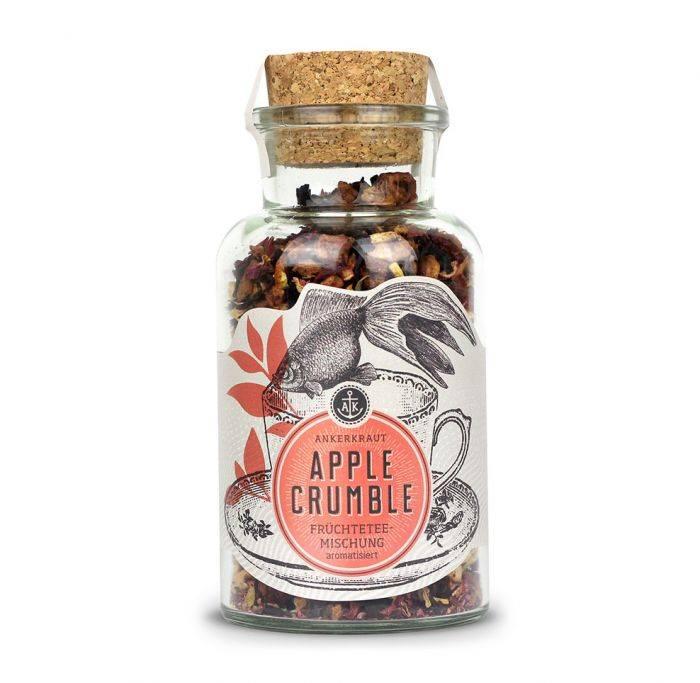 Ankerkraut Apple Crumble, Früchteteemischung, 95g Glas