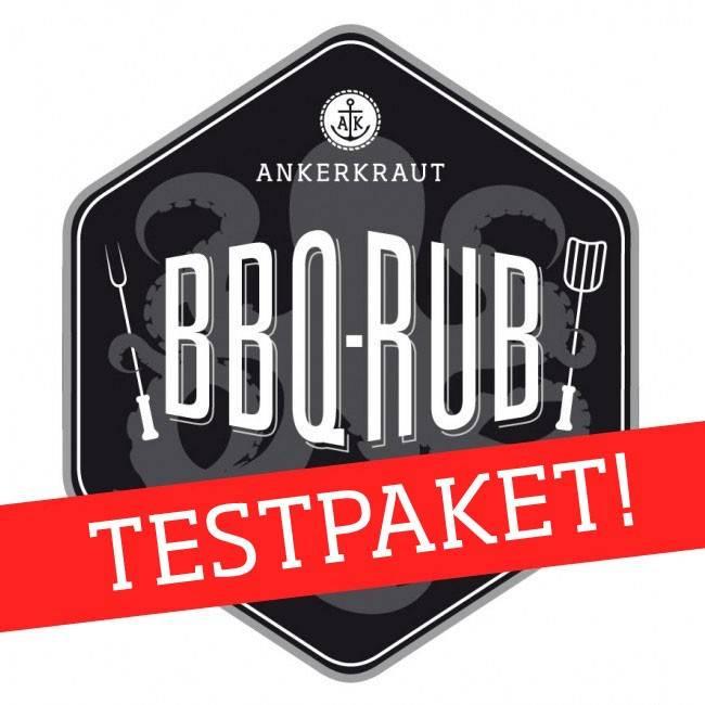 Ankerkraut BBQ-Rub Mega Testpaket, 18 Sorten