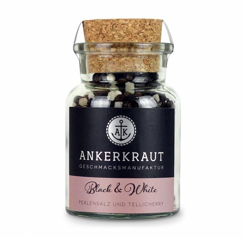 Ankerkraut Black & White Pfeffer, 115 g Glas