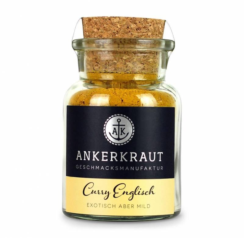 Ankerkraut Curry Englisch, 70g Glas