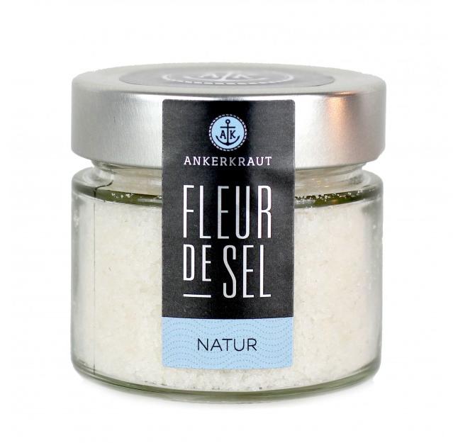 Ankerkraut Fleur de Sel im Tiegel, 120 g Glas