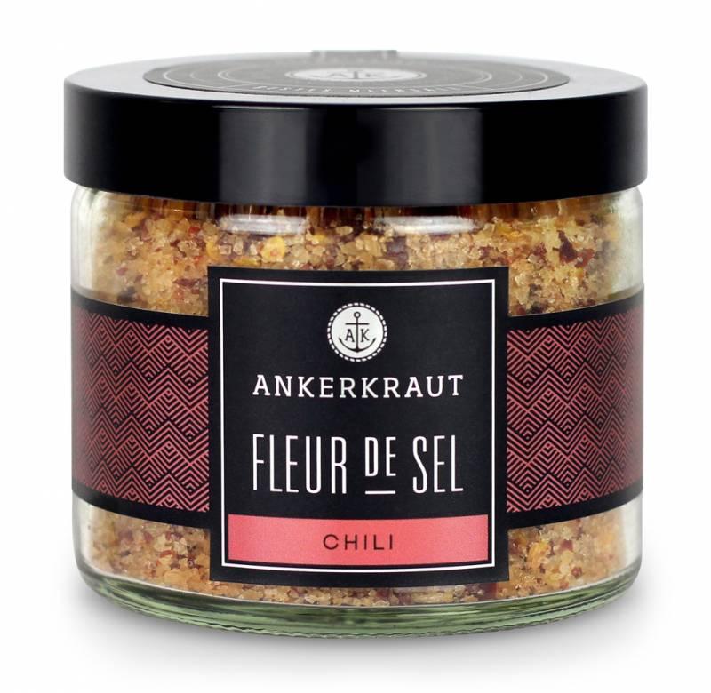 Ankerkraut Fleur de Sel - Chili, 150 g Glas