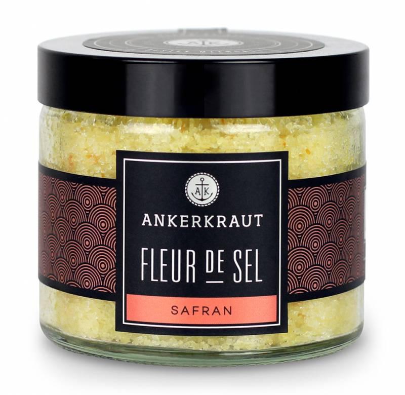 Ankerkraut Fleur de Sel - Safran, 160g Glas