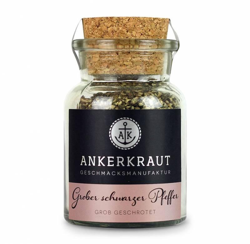 Ankerkraut Grober schwarzer Pfeffer, 70g Glas