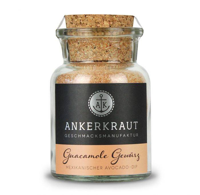 Ankerkraut Guacamole Gewürz, 110g Glas