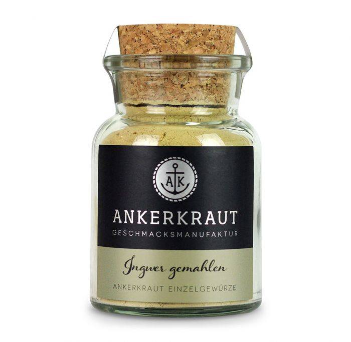 Ankerkraut Ingwer, gemahlen, 65g Glas