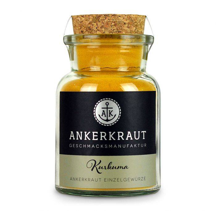 Ankerkraut Kurkuma, gemahlen, 75g Glas
