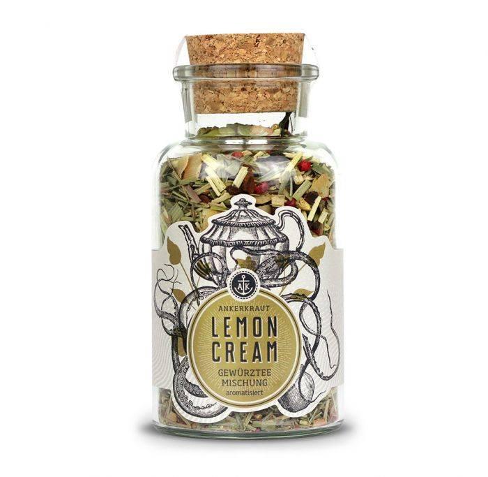 Ankerkraut Lemon Cream, Gewürztee, 100g Glas