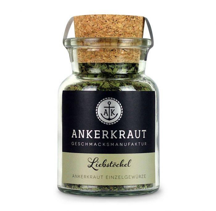 Ankerkraut Liebstöckel, gerebelt, 15g Glas