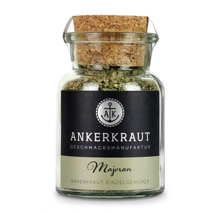 Ankerkraut Majoran, gerebelt, 15g Glas