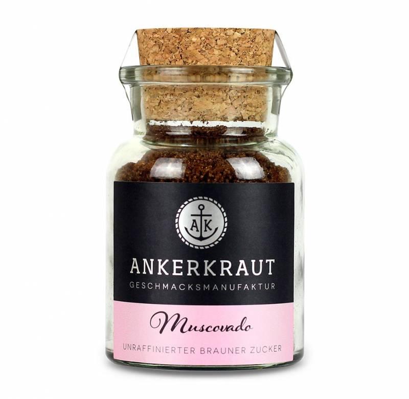 Ankerkraut Muscovado Zucker, 90g Glas