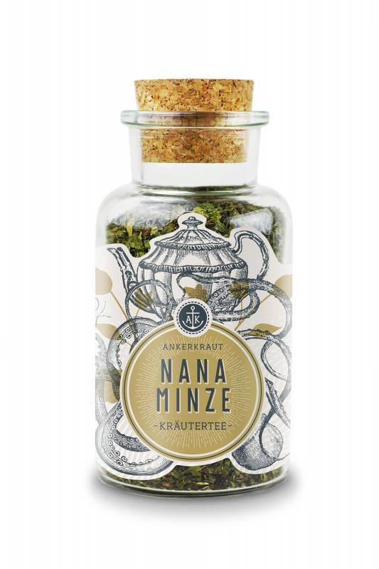 Ankerkraut Nana Minze, Kräutertee, 35g Glas