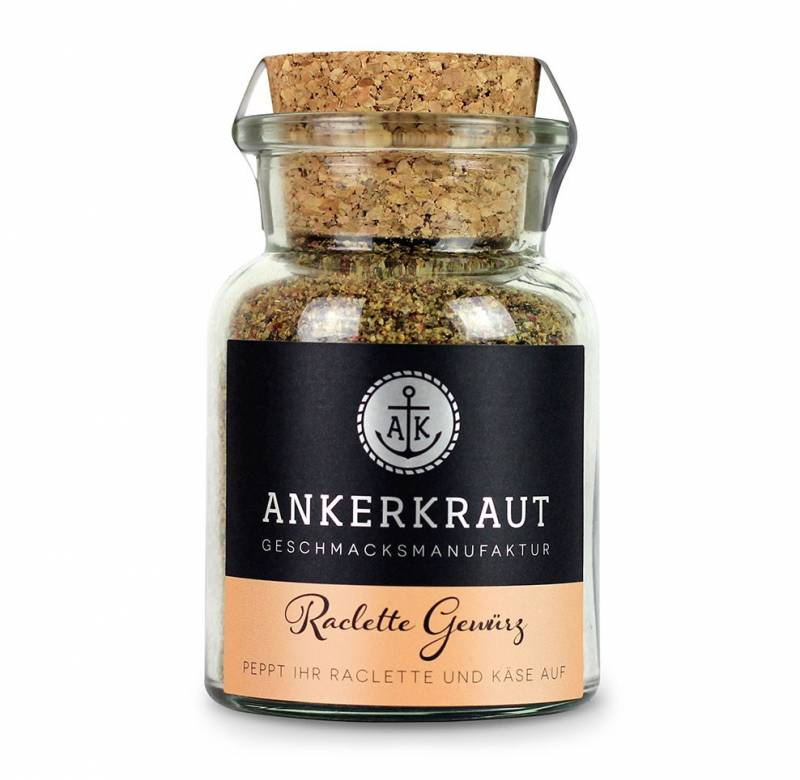 Ankerkraut Raclette Gewürz, 95g Glas