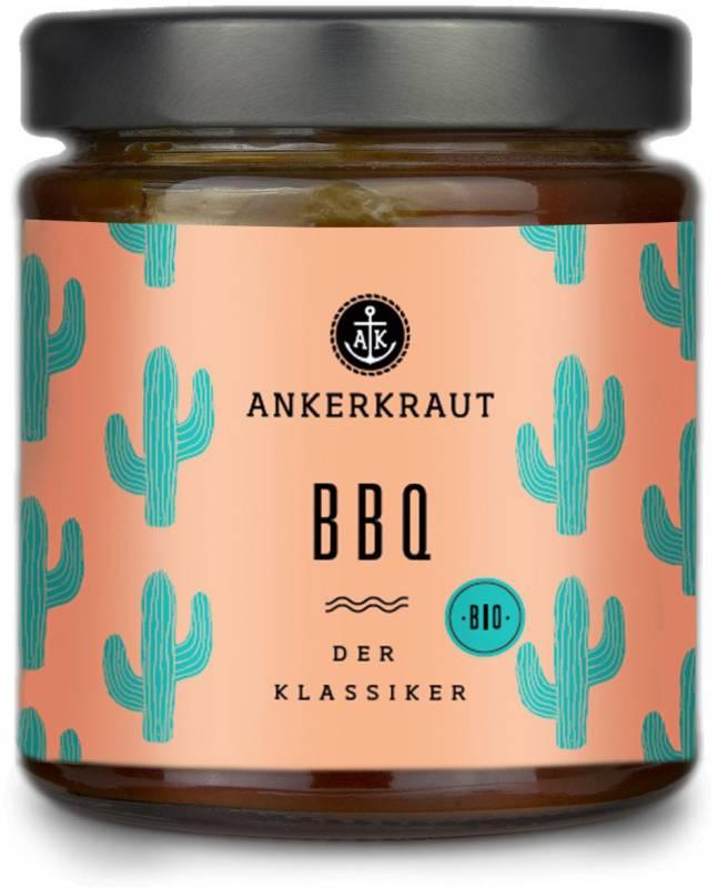 Ankerkraut #Saucenliebe - BBQ Sauce - Der Klassiker, 170 ml Glas