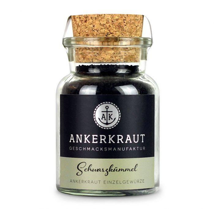 Ankerkraut Schwarzkümmel, ganz, 80g Glas