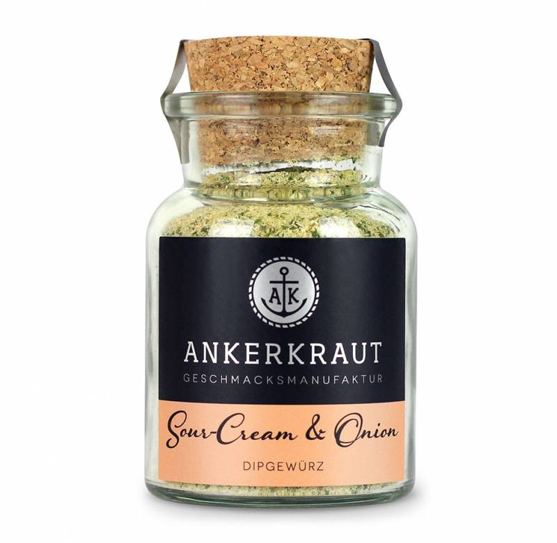 Ankerkraut Sour-Cream & Onion Dipgewürz, 90 g Glas